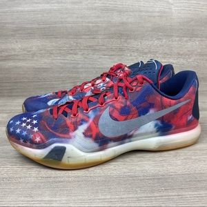 Nike Kobe X 10 USA Independence Basketball Shoes